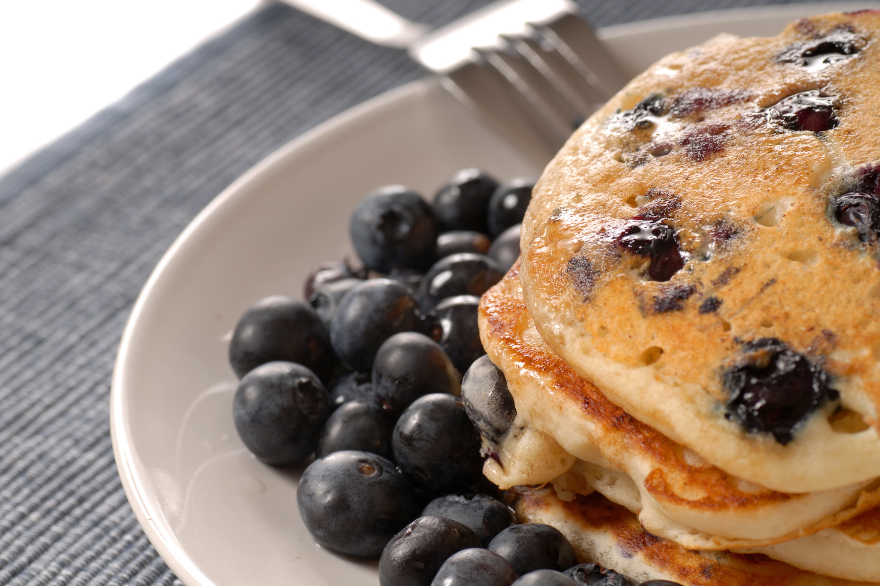 5 Ingredient Blueberry Pancakes from Cooking with Teresa