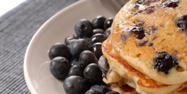 Cooking with Teresa Online Cookbook & Meal Planner 5 Ingredient Blueberry Pancakes