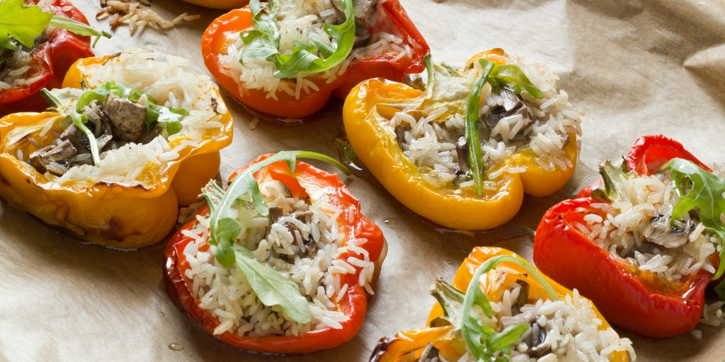 Cooking with Teresa Online Cookbook & Meal Planner Baked Sweet Peppers