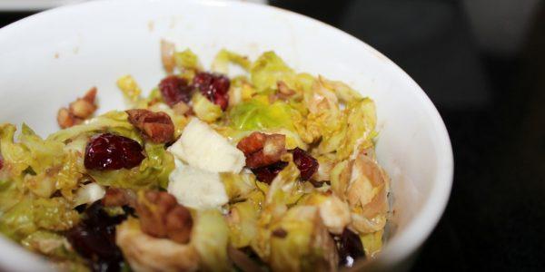 Cooking with Teresa Online Cookbook & Meal Planner Brussels Blue Salad