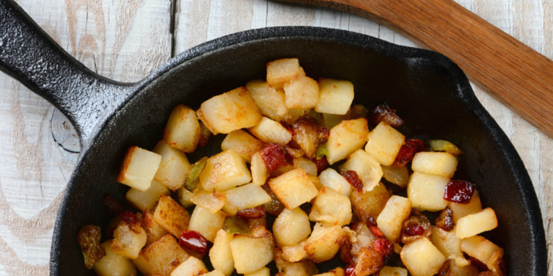 Cooking with Teresa Online Cookbook & Meal Planner Crispy Pan Fried Potatoes