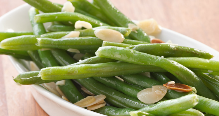 Cooking with Teresa Online Cookbook & Meal Planner Garlic Almond Green Beans