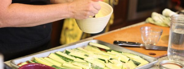 Cooking with Teresa Online Cookbook & Meal Planner Parmesan Zucchini Fries