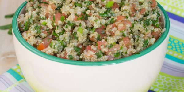 Cooking with Teresa Online Cookbook & Meal Planner Quinoa Tabouli