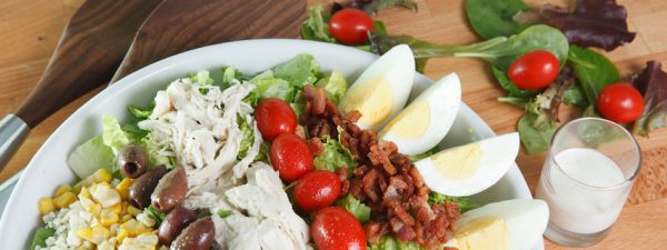Cooking with Teresa Online Cookbook & Meal Planner Shredded Pork Cobb Salad