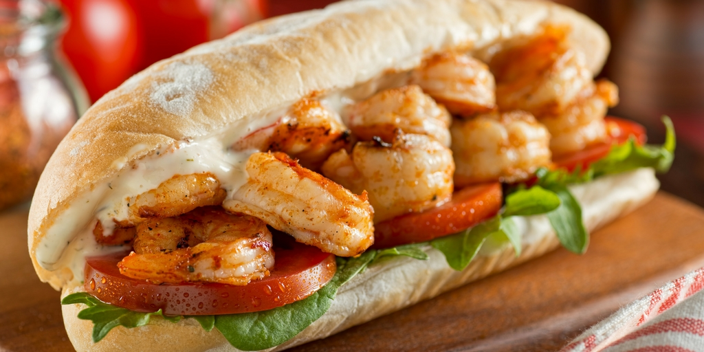 Cooking with Teresa Online Cookbook & Meal Planner Shrimp Po Boy
