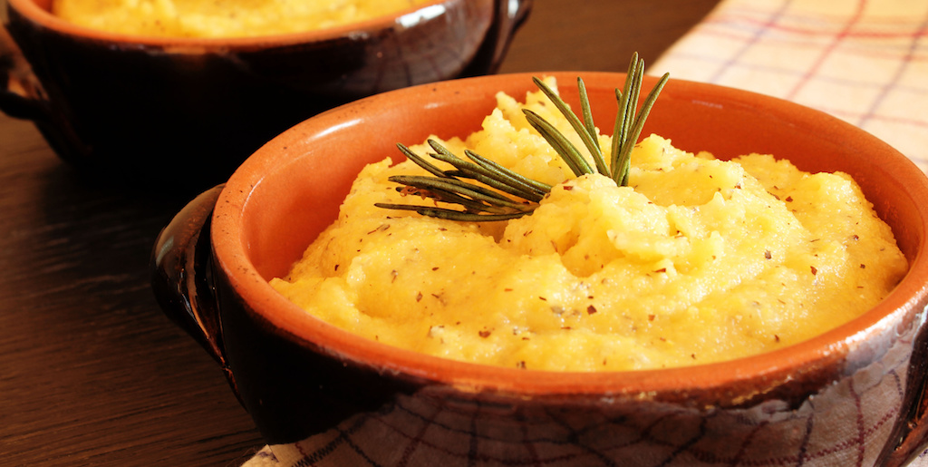 Cooking with Teresa Online Cookbook & Meal Planner Smoked Gouda Polenta