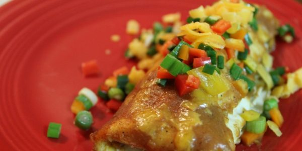 Cooking with Teresa Online Cookbook & Meal Planner Smothered Burrito