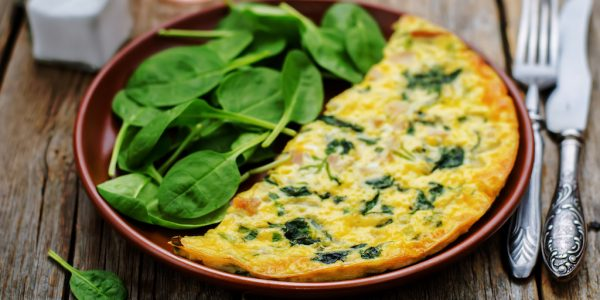 Cooking with Teresa Online Cookbook & Meal Planner Spinach & Sun-Dried Tomato Egg bake