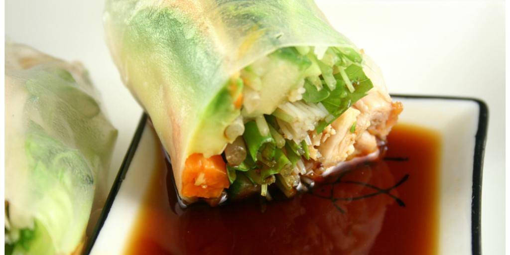 Cooking with Teresa Online Cookbook & Meal Planner Veggie Spring Rolls