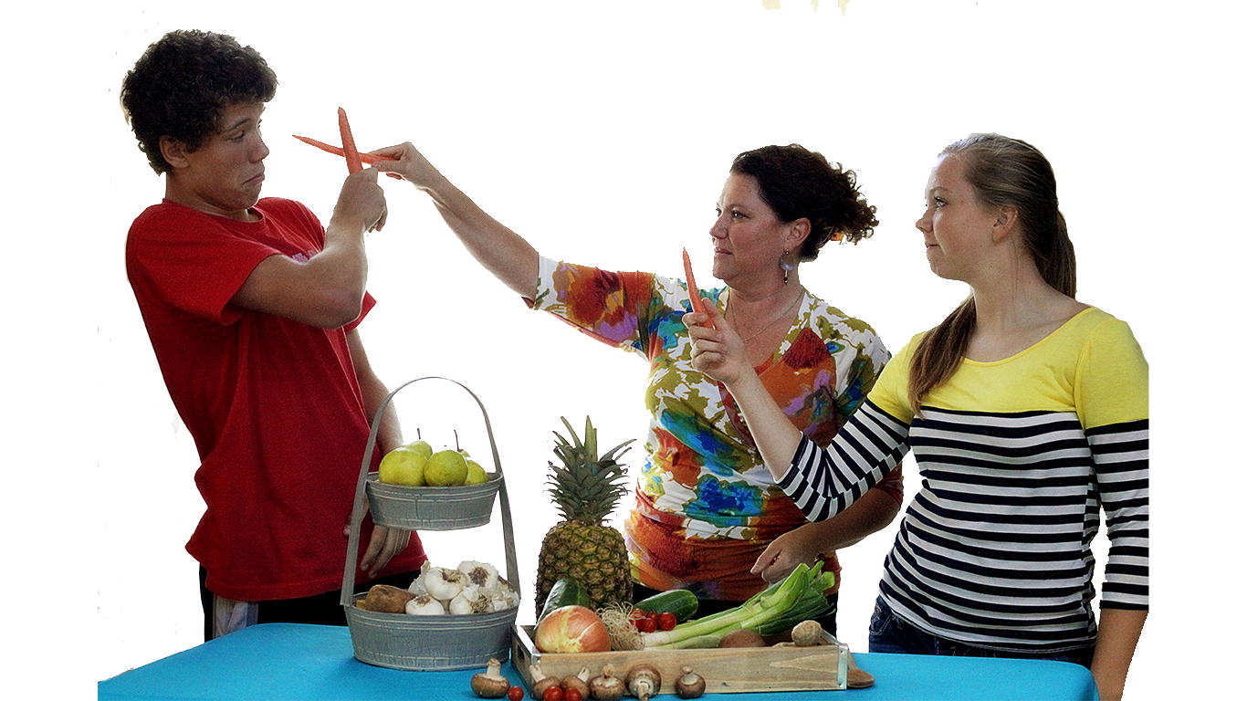 Cooking with Teresa Healthy Food Battle