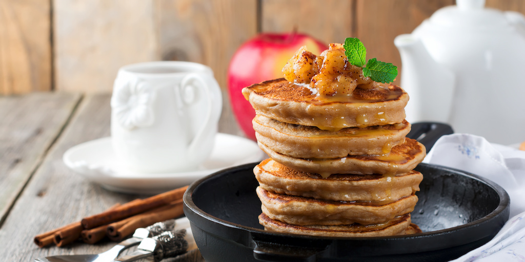 Cooking with Teresa Online Cookbook & Meal Planner Apple Cinnamon Pancakes