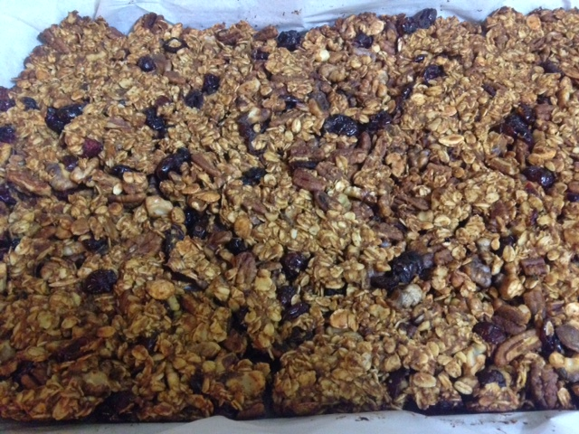Cooking with Teresa Online Cookbook & Meal Planner Autumn Spiced Granola