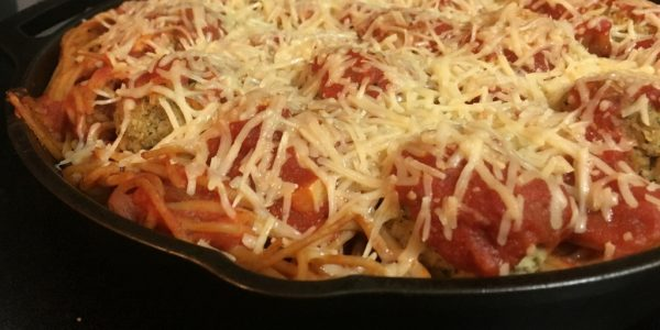 Cooking with Teresa Online Cookbook & Meal Planner Baked Spaghetti Meatballs