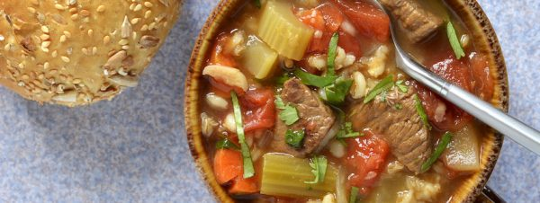 Cooking with Teresa Online Cookbook & Meal Planner Beef Barley soup