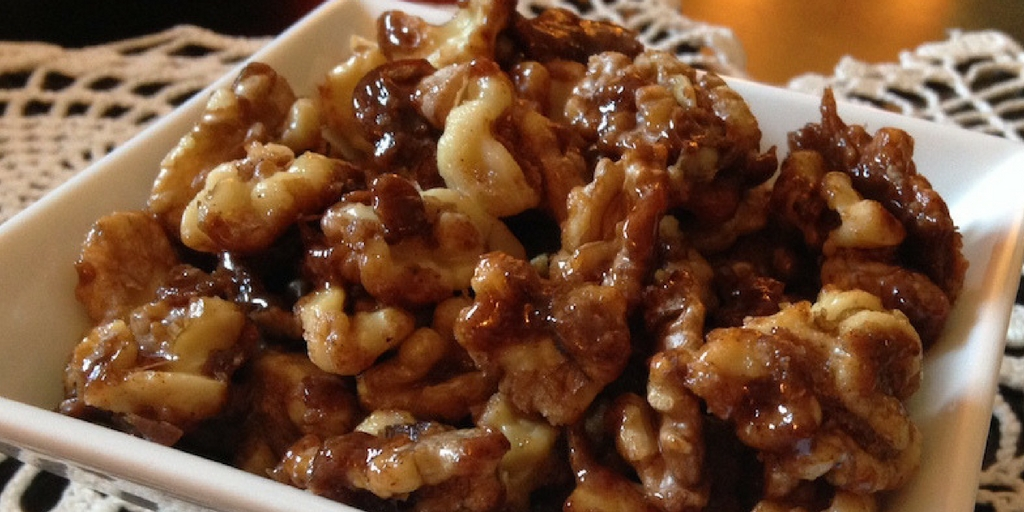 Cooking with Teresa Online Cookbook & Meal Planner Candied Walnuts
