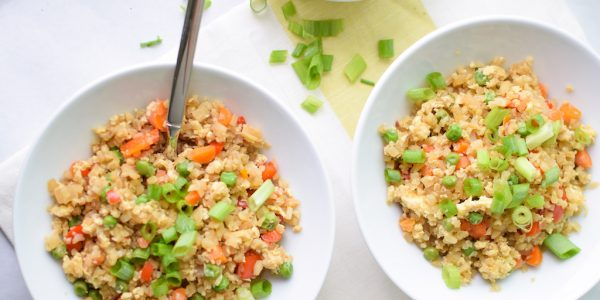 Cooking with Teresa Online Cookbook & Meal Planner Cauliflower Fried Rice