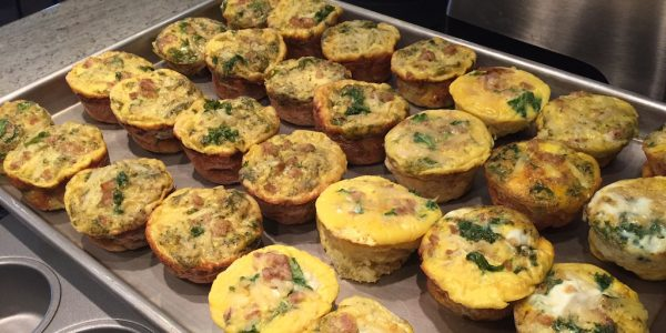 Cooking with Teresa Online Cookbook & Meal Planner Mini Frittatas