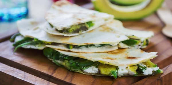 Cooking with Teresa Online Cookbook & Meal Planner Pork Avocado Quesadillas