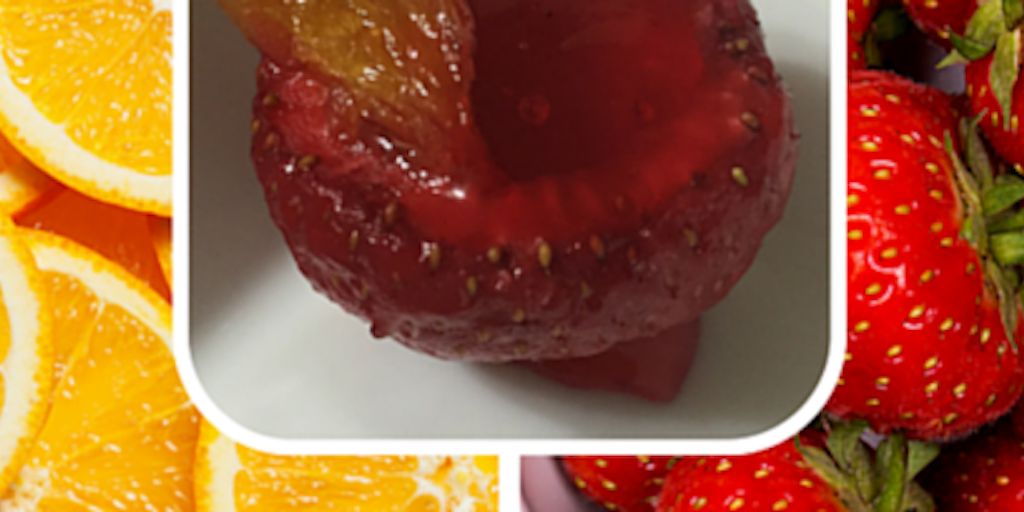 Cooking with Teresa Online Cookbook & Meal Planner Strawberry Orange-Jell-O shots